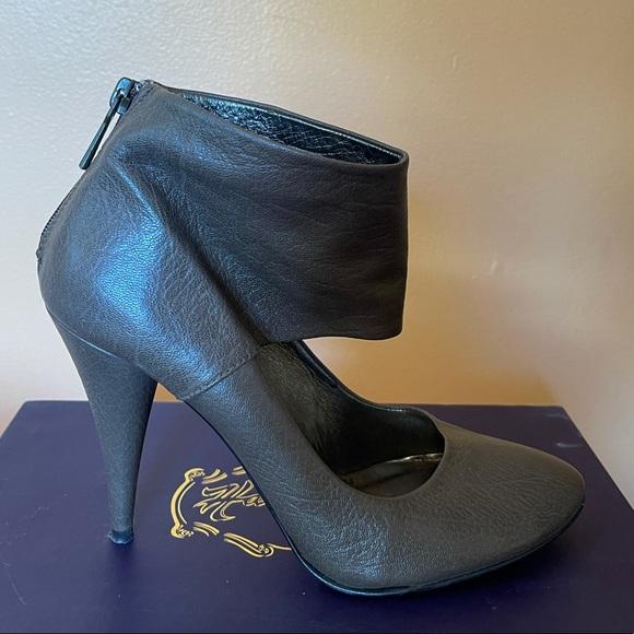Zara Brown Sandal Heels